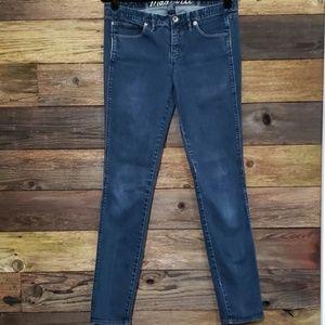 "Madewell 8"" Mid-Rise Skinny Jean"
